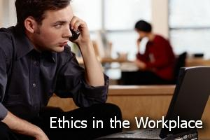 ethics in the workplace a Lapses in workplace ethics result from inappropriate officer behavior such as insider stock trading, expense account fraud, sexual harassment, and involvement in conflicts of interest lapses in workplace ethics do not need to rise to that level to impact the workplace environment you provide for employees, though.
